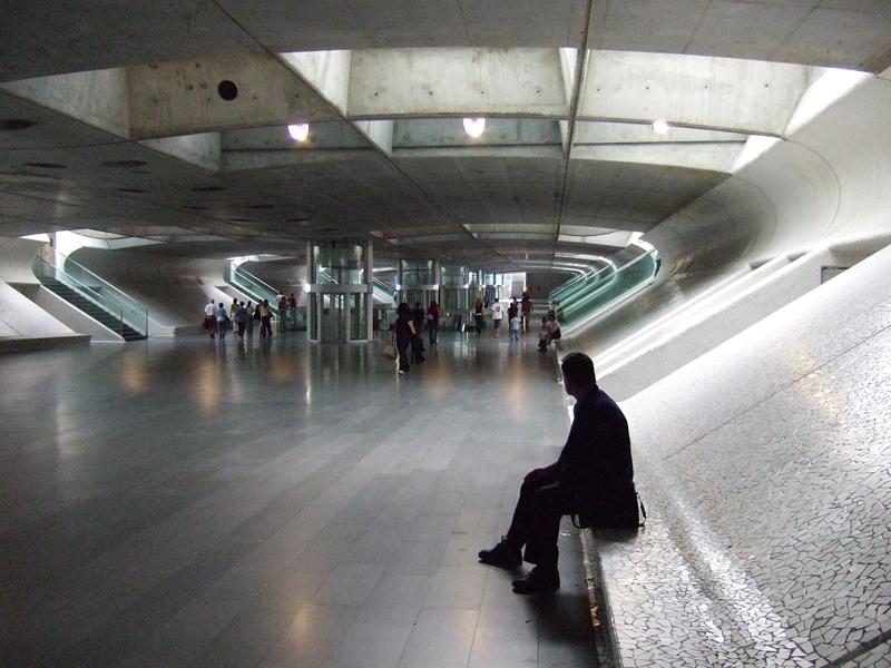 Architektur, Bahnhof Oriente, Lissabon