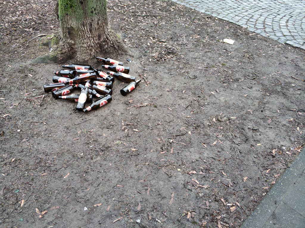 Pandemie, Alkoholverbot