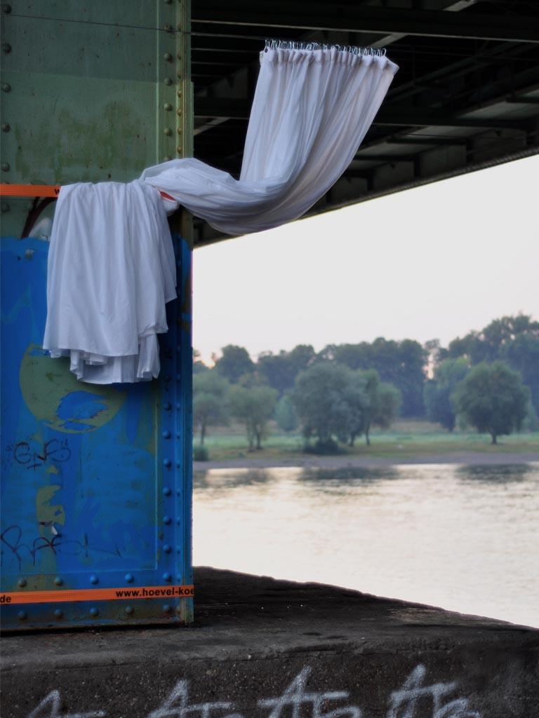 Vorhang Mülheimer Brücke
