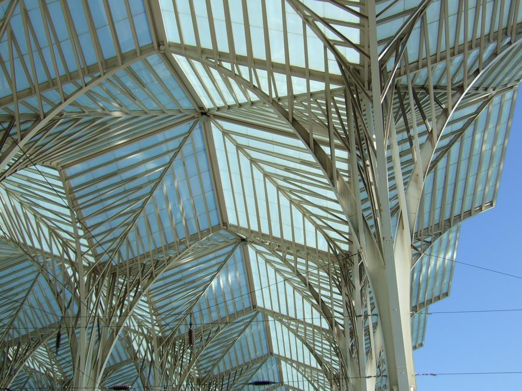 Architektur, Bahnhof Oriente Lissabon