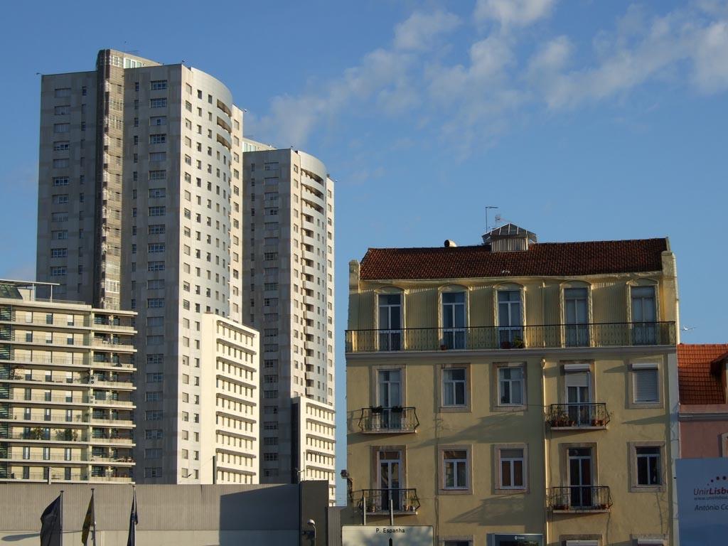 Architektur, alt und neu, Lissabon